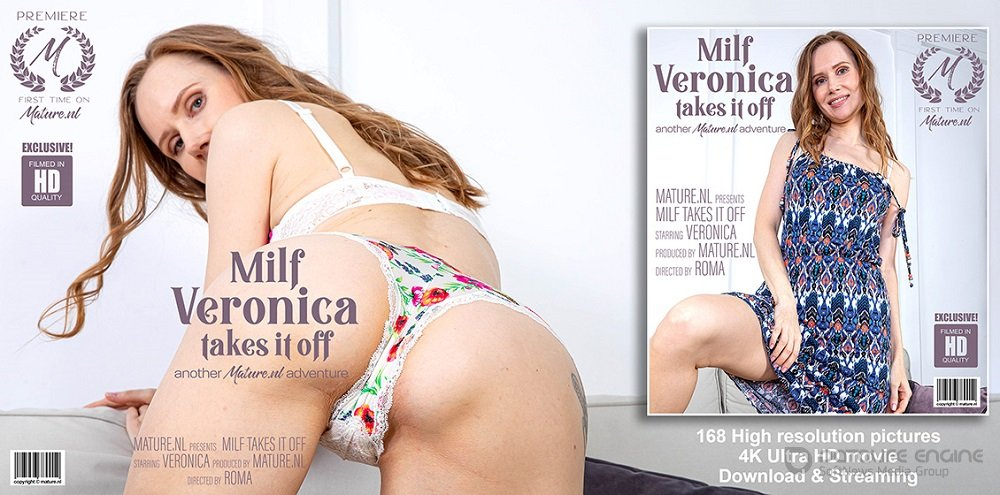 Veronica - Hot MILF Veronica is getting very naughty (1080p)